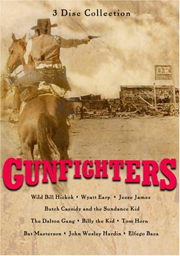 Gunfighters Of The West DVD Image