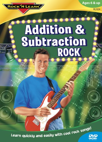 Rock 'N Learn: Addition & Subtraction Rock DVD Image