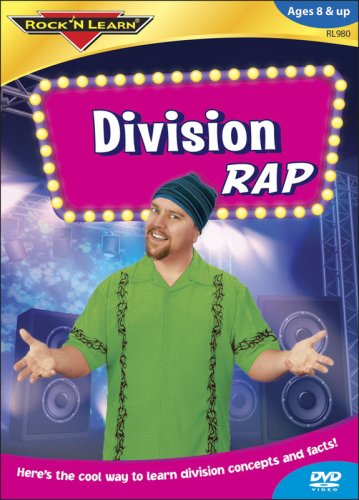 Rock 'N Learn: Division Rap DVD Image