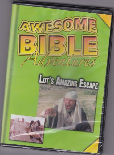 Awesome Bible Adventures: Lot's Amazing Adventure DVD Image