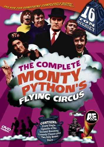 Monty Python's Flying Circus: The Complete Monty Python's Flying Circus 16-Ton Megaset DVD Image