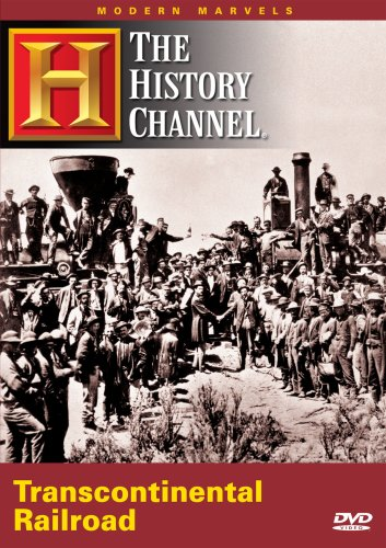 Modern Marvels: The Transcontinental Railroads DVD Image
