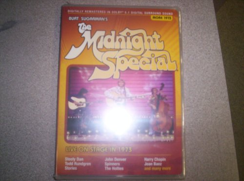 Burt Sugarman's The Midnight Special: Live On Stage 1973 DVD Image