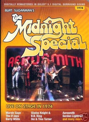 Burt Sugarman's The Midnight Special: Live On Stage 1974 DVD Image