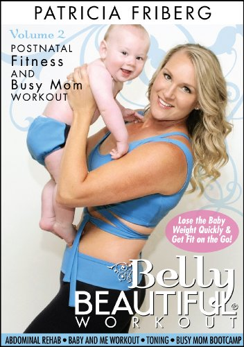 Belly Beautiful Workout Postnatal/ Post Pregnancy DVD Image