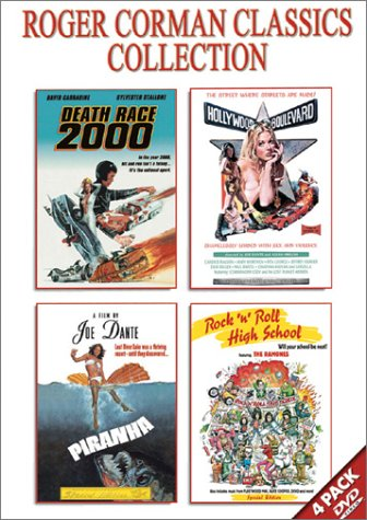 Roger Corman Classics Gift Set (Death Race 2000 / Hollywood Boulevard / Piranha / Rock 'n' Roll High School) DVD Image