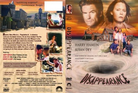 Disappearance DVD Image