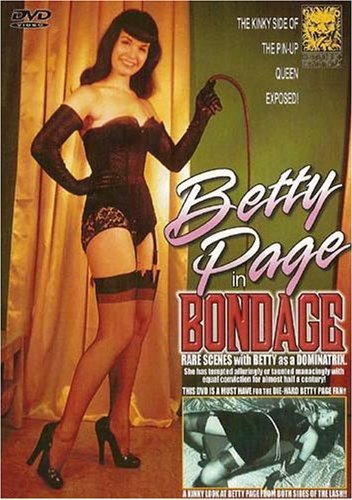 Betty Page In Bondage DVD Image