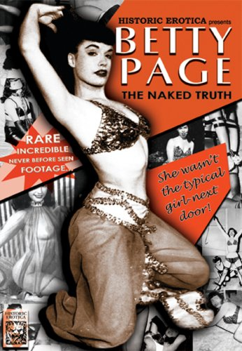 Betty Page: The Naked Truth DVD Image