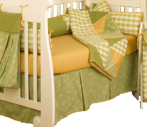 Cotton Tale Designs Dragonfly II 4 Piece Crib Bedding Set DVD Image