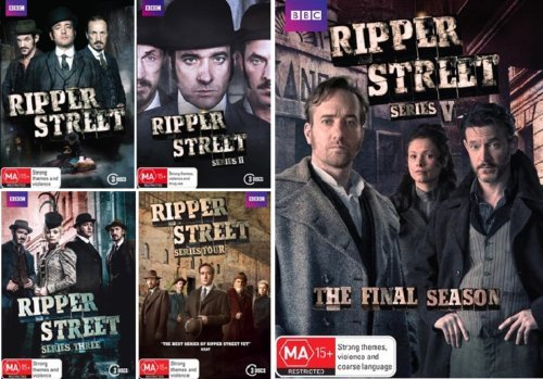 Ripper Street:The Complete Series 1-5 DVD Image
