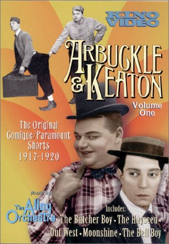 Arbuckle and Keaton, Vol. 1 DVD Image