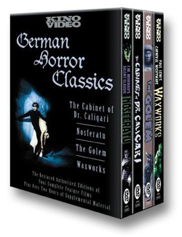 German Horror Classics (Nosferatu (1922) / The Cabinet of Dr. Caligari / Waxworks / The Golem) DVD Image