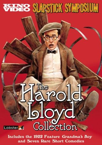 The Harold Lloyd Collection, Vol. 1 (Slapstick Symposium) DVD Image