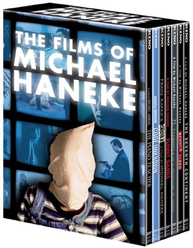 The Michael Haneke Collection (The Piano Teacher/Funny Games/Code Unknown/The Castle/Benny's Video/The Seventh Continent/71 Fragments of a Chronology of Chance) (7pc) DVD Image
