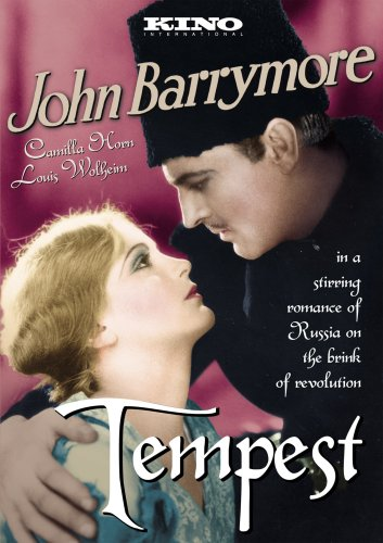 Tempest (1928) (Silent) (B&W) DVD Image
