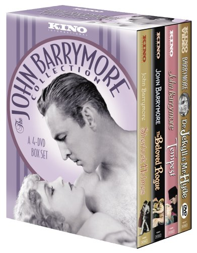 John Barrymore Collection (Sherlock Holmes / Dr. Jekyll and Mr. Hyde / The Beloved Rogue / Tempest) (4pc) (Silent) (Full) DVD Image
