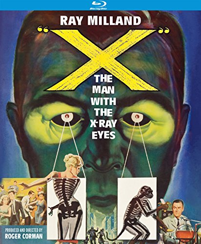 X: The Man with the X-Ray Eyes [Blu-ray] DVD Image