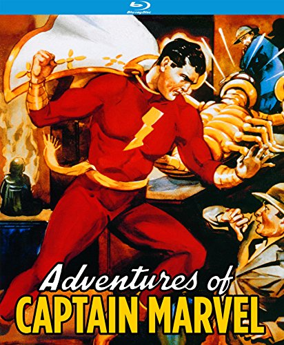 Adventures of Captain Marvel (12 Chapter Serial) [Blu-ray] DVD Image