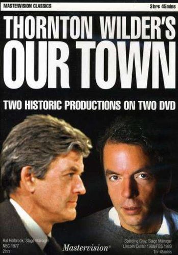 Thornton Wilder's Our Town: Two Historic Productions DVD Image
