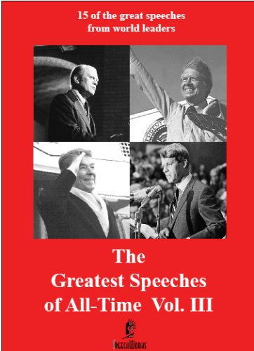 The Greatest Speeches of All-Time Vol III DVD Image