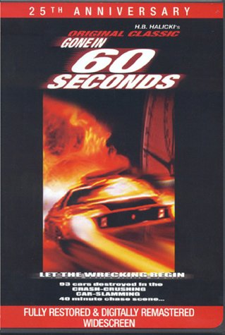 Gone in 60 Seconds DVD Image