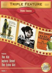 Triple Feature Drama Classics, Vol. 7: The Kid/Joyless Street/The Extra Girl DVD Image