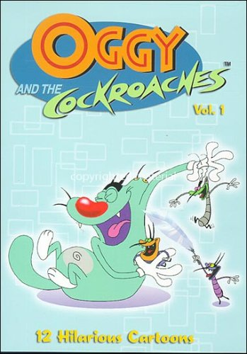Oggy and the Cockroaches, Vol. 1 DVD Image
