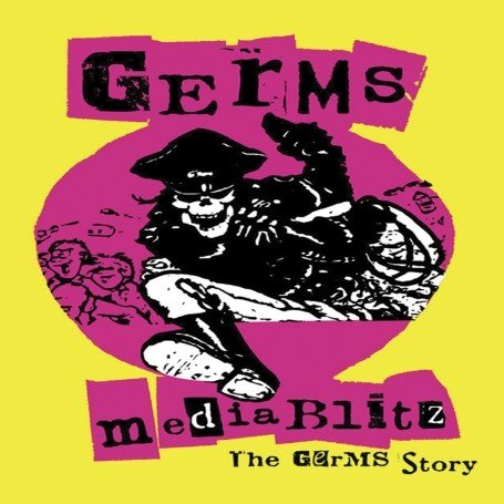 Germs: Media Blitz: The Germs Story (Cleopatra Records) DVD Image