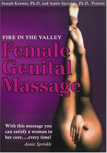 Fire In The Valley: Female Genital Massage DVD Image