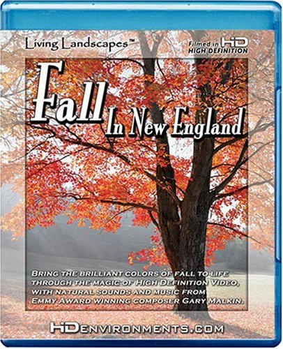 Living Landscapes HD Fall in New England [Blu-ray] DVD Image