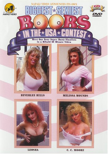 Biggest Sexiest Boobs In The USA Contest DVD Image