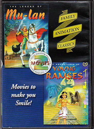 Legend Of Mulan (KRB Music) / Adventures Of Young Ramses DVD Image