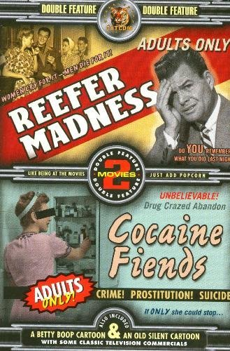 Reefer Madness/Cocaine Fiends DVD Image