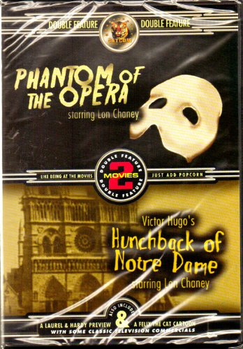 Phantom Of The Opera (1925/ KRB Music) / The Hunchback Of Notre Dame (1932) (Double Feature) DVD Image