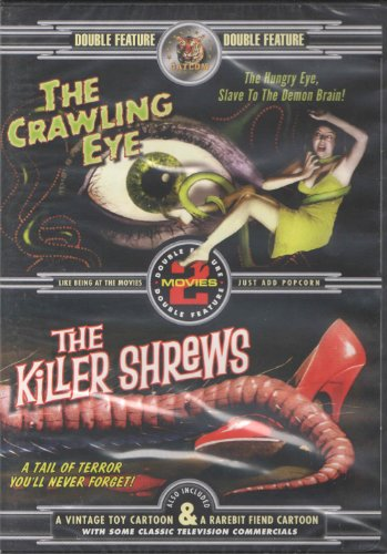 Crawling Eye (KRB Music) / Killer Shrews DVD Image