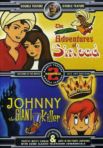 The Adventures of Sinbad/Johnny the Giant Killer DVD Image