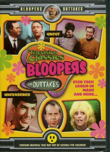 Television Classics Bloopers DVD Image