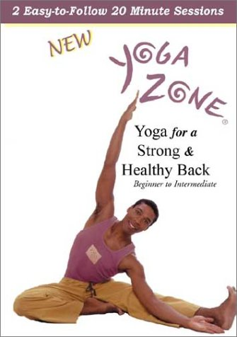 Yoga For A Strong And Healthy Back: Yoga Zone DVD Image