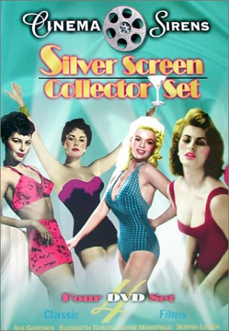 Cinema Sirens - Silver Screen Set (The Snows of Kilimanjaro/The Fat Spy/Two Women/The Last Time I Saw Paris) DVD Image