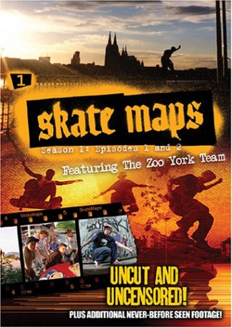 Skate Maps, Vol. 1: Season 1 - Episodes 1 and 2 DVD Image