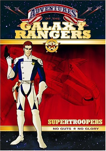 Adventures of the Galaxy Rangers - Supertroopers DVD Image