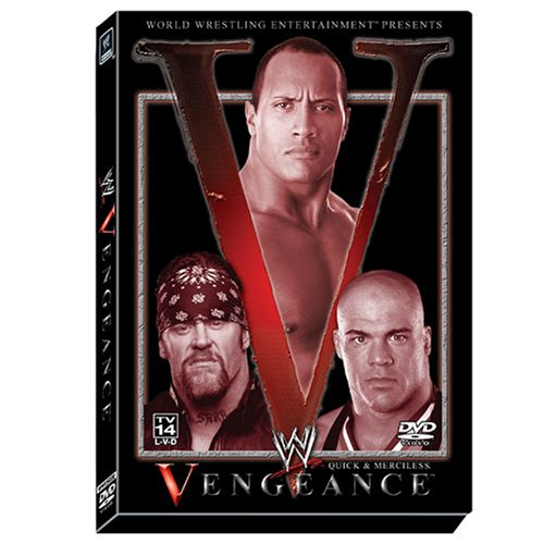 WWE Vengeance 2002: Quick & Merciless DVD Image