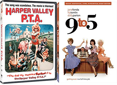 9 to 5 + Harper Valley PTA DVD Comedy 80's Satire Set with Dolly Parton DVD Image
