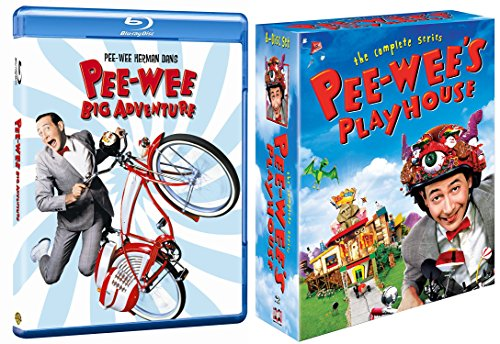Pee-wee's Big Adventure & Pee-wee's Playhouse: The Complete Series Blu Ray Wacky Fun Funny set DVD Image