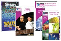 Myth Busters: Energy Conservation DVD Image