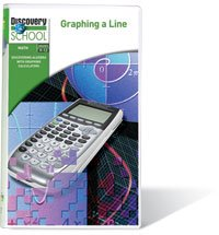 Discovering Algebra with Graphing  Calculators: Finding the Slope of a Line DVD Image