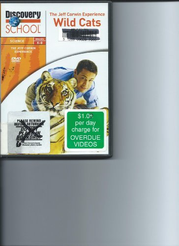 The Jeff Corwin Experience: Wild Cats DVD Image