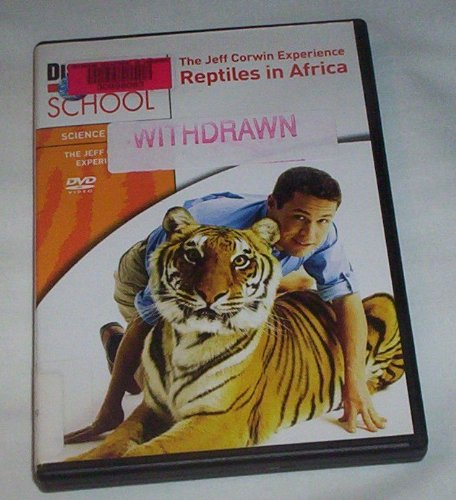 The Jeff Corwin Experience: Reptiles in Africa, Zanzibar and Madagascar DVD Image