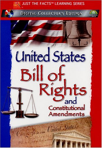 Just The Facts: The United States Bill Of Rights / Constitutional Amendments DVD Image